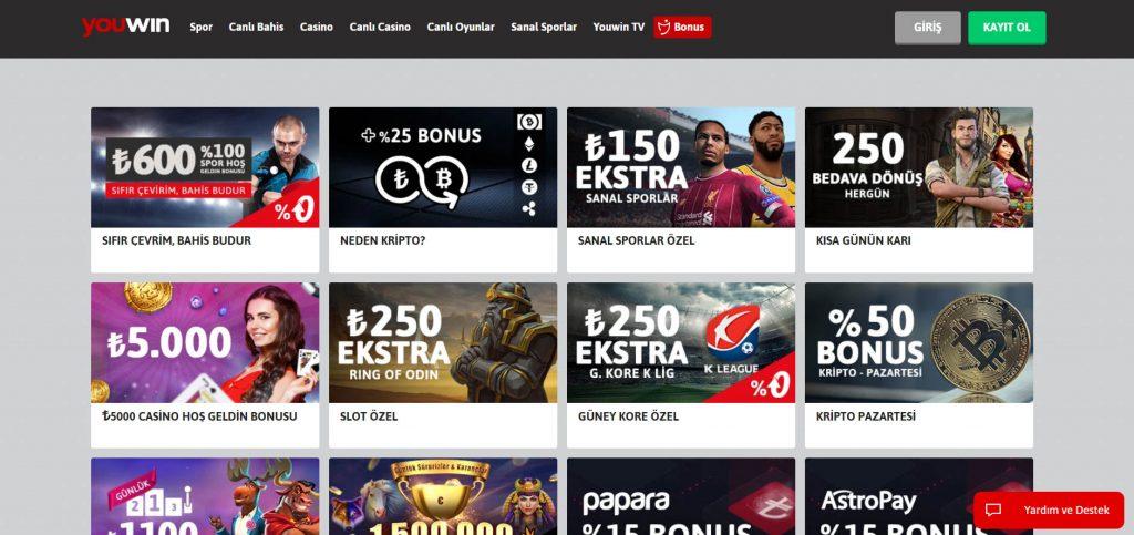 Sanal Casino Siteleri Nelerdir